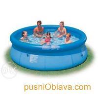 Надуваем голям басейн - INTEX Easy Set -244 х- 76см -нов